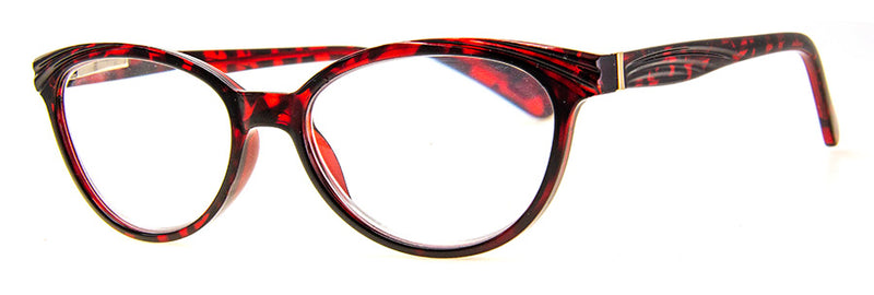 Tortoise Cute, Hip and Funky Cat Eye Reading Glasses