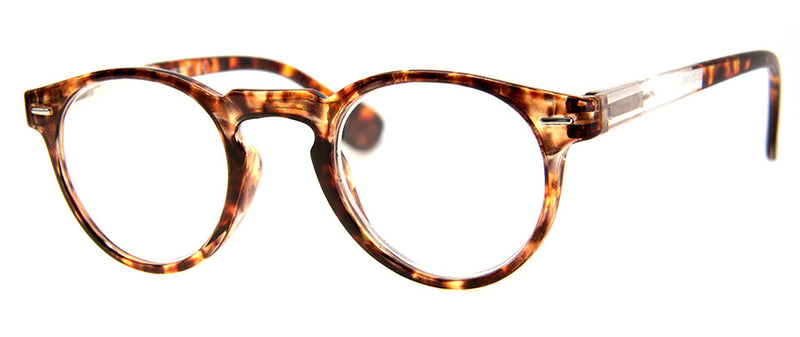 Tortoise Oval/Round Reading Glasses for Men & Women
