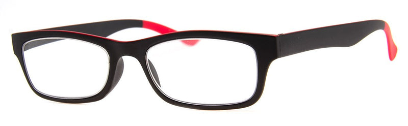 Black - Mens, New, Popular, Rectangular, Reading Glasses