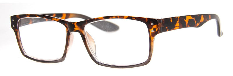 Tortoise - Stylish Rectangular Reading Glasses for Men & Women
