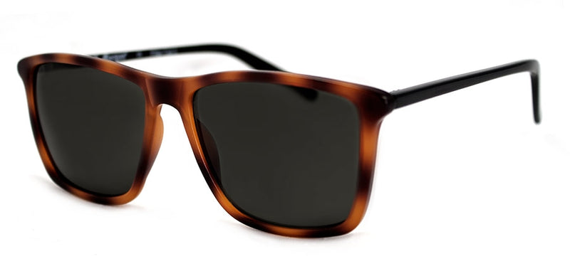 Matte Tortoise/Black Rectangular Sunglasses
