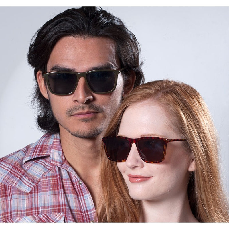 Mens & Womens Hip Rectangular Sunglasses