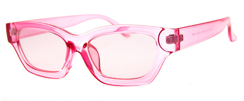Pink - Retro, Cateye, Girls Sunglasses