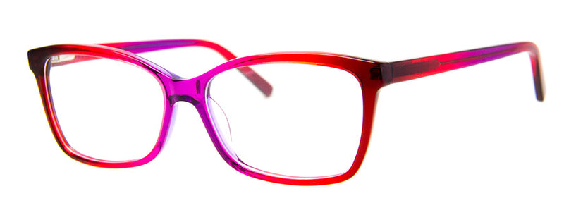Red/Purple - Optical Quality | Sexy Cat Eye Reading Glasses for Women