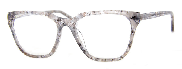 Grey - Rectangular Reading Glasses for Women