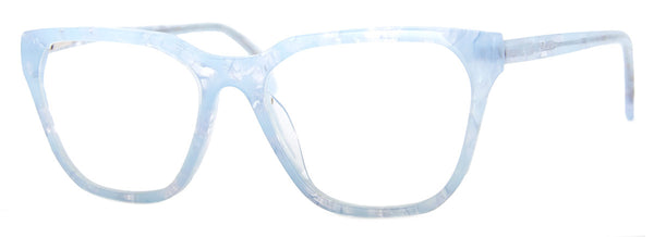 Light Blue - Rectangular Reading Glasses for Women