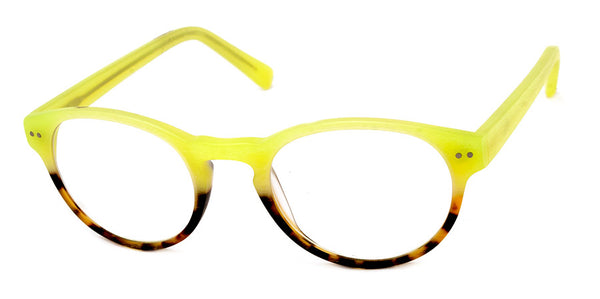 Lime Green/Tortoise Optical Quality Stylish Reading Glasses