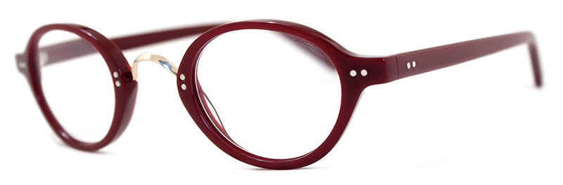 Burgundy Round Hip Reading Glasses for Men & Women