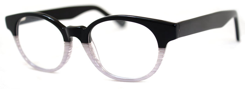 Black & White  - RX-able | Optical Quality Cat Eye Womens Reading Glasses