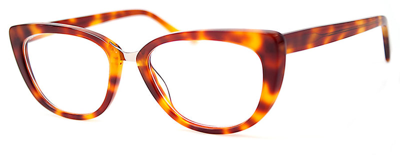 Rust Tortoise -  RX-able | Optical Quality Cat Eye Womens Reading Glasses