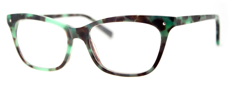 Green/Tortoise - RX-able | Optical Quality Cat Eye Womens Reading Glasses