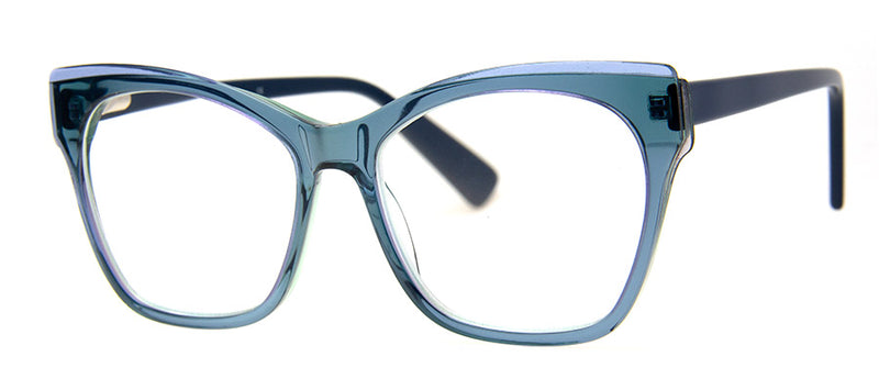Teal - Big Cat eye Reading Glasses