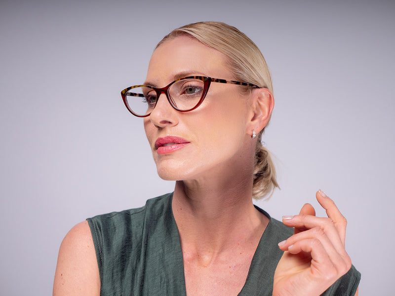 Hip Cat Eye Reading Glasses