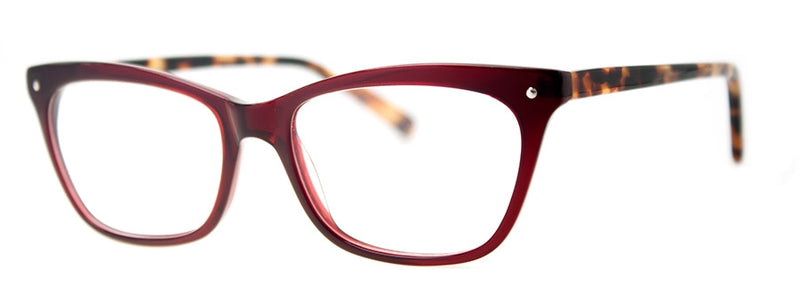 Burgundy/Tortoise - RX-able | Optical Quality Cat Eye Womens Reading Glasses