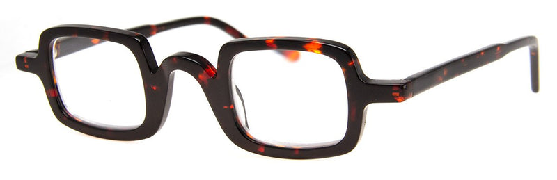 Tortoise - Classic, Hip Rectangular Reading Glasses