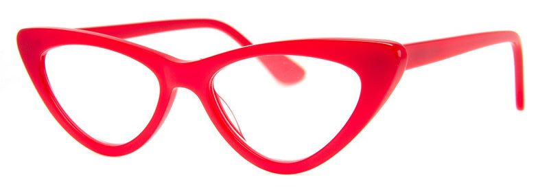 Red - Vintage Inspired Cat Eye Reading Glasses