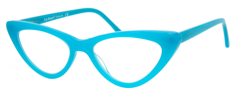 Turquoise - Vintage Inspired Cat Eye Reading Glasses