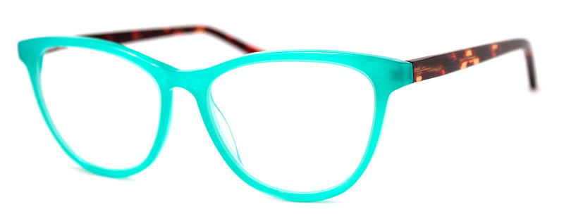Turquoise/Tortoise - RX-able | Optical Quality Cat Eye Womens Reading Glasses