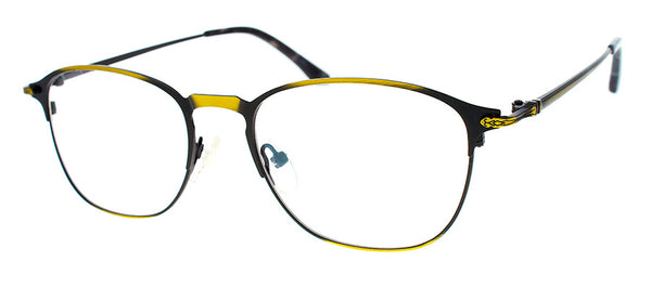 Gold Metal Frame Readers for Women & Men