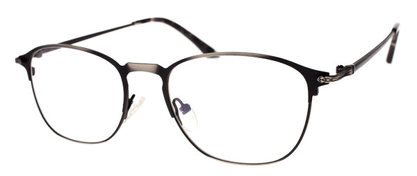 Gunmetal Metal Frame Readers for Women & Men