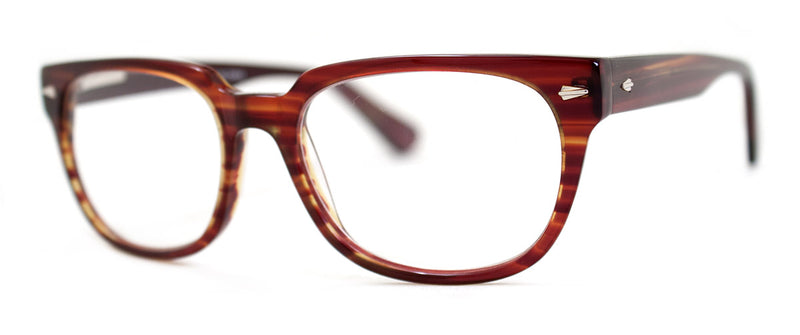 Brown Stripe - Hip, Stylish, Rectangular, Optical Quality Reading Glasses for Men & Women