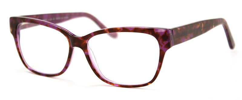 Purple - Hip, Stylish, Rectangular, Optical Quality Reading Glasses for Men & Women
