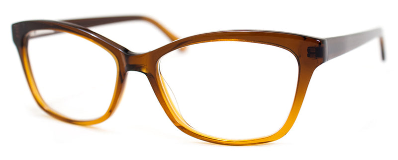 Brown Fade - Optical Quality | Sexy Cat Eye Womens Reading Glasses