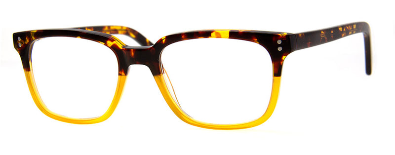 Yellow/Tortoise Stylish Mens & Womens Reading Glasses