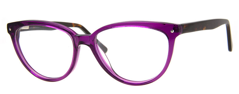 Purple/Tortoise - RX-able | Optical Quality Cat Eye Womens Reading Glasses