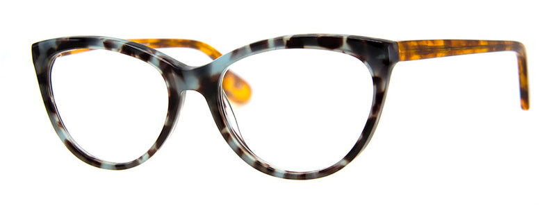 Blue Tortoise - Optical Quality | Cute Cat Eye Reading Glasses