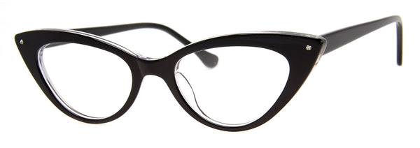 Black - Rx-able | Optical Quality | Cute Reading Glasses