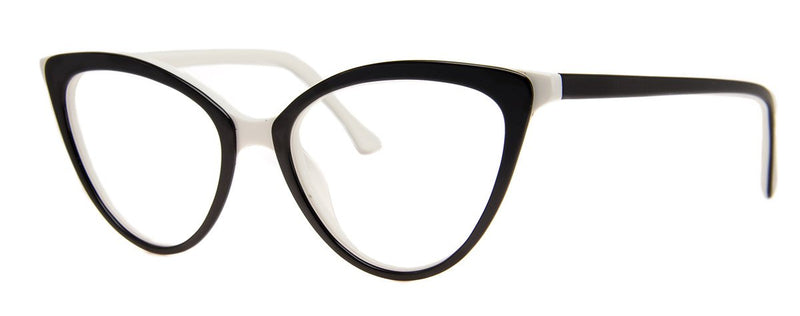 Blac/White - Sexy, Classic Vintage Reading Glasses for Women