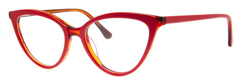 Red - Sexy, Classic Vintage Reading Glasses for Women