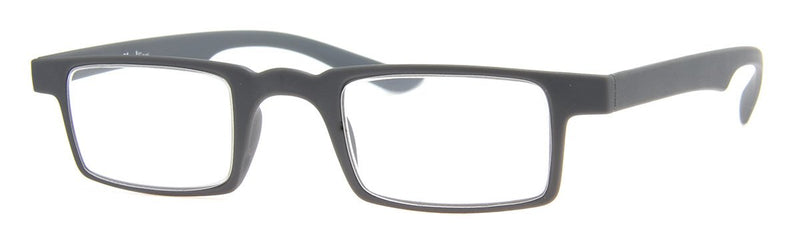 Grey - Mens, New, Popular, Rectangular, Reading Glasses