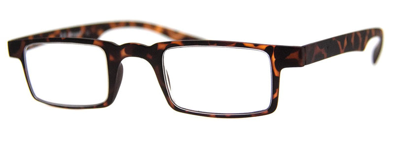 Tortoise - Mens, New, Popular, Rectangular, Reading Glasses