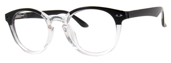 Black/Crystal - Mens, New, Popular, Round, Vintage, Womens, Reading Glasses