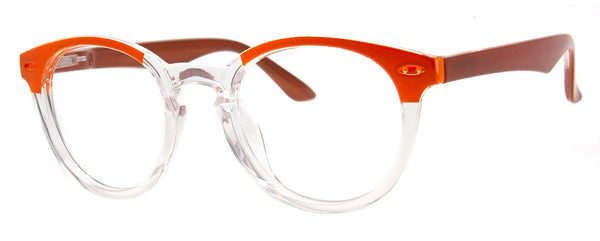 Amber - Mens, New, Popular, Round, Vintage, Womens, Reading Glasses