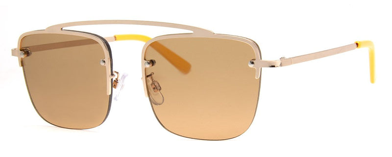 Gold - Aviator Sunglasses for Men & Women