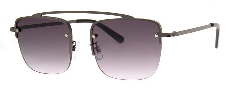 Gunmetal - Aviator Sunglasses for Men & Women