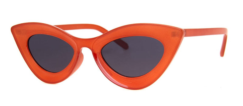 Orange - Hip, Cateye, Sunglasses for Girls