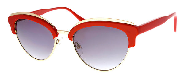 Red Cat Eye Sunglasses for Women | Optical Quality Frames
