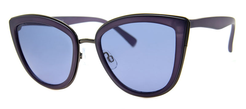 Dark Blue - Oversized, Cat Eye Sunglasses for Women
