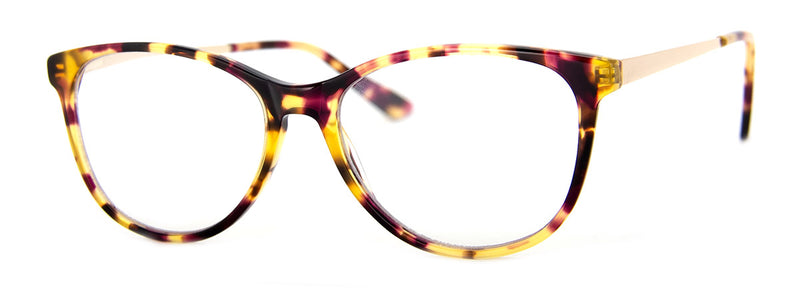 Tortoise - Cute designer cat eye reading glasses for women