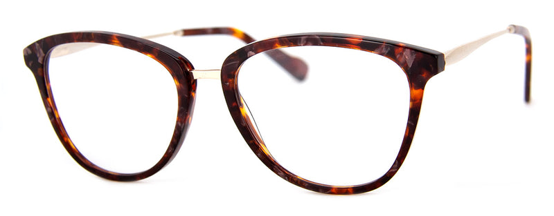 Brown - Cute Cat Eye Reading Glasses for Women