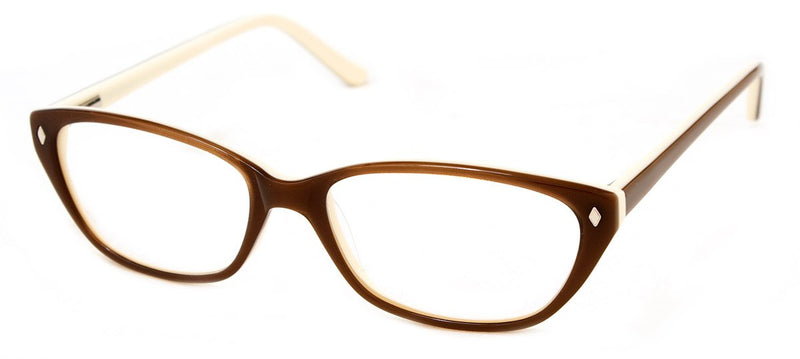 Brown - RX Frames - Hip Womens Reading Glasses
