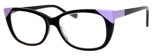 Black - Stylish, Cat Eye Reading Glasses for Women