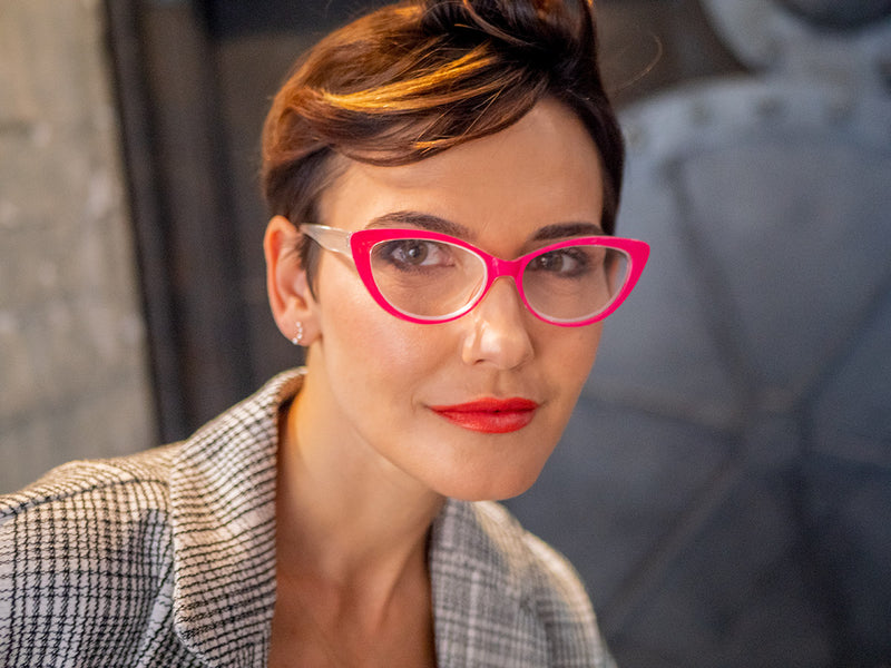 Vintage-Inspired Cat Eye Reading Glasses for Women