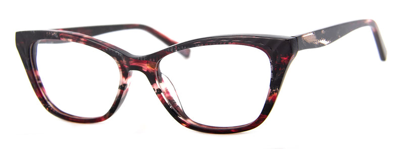 Burgundy/Red Tortoise - Cat Eye Reading Glasses for Women