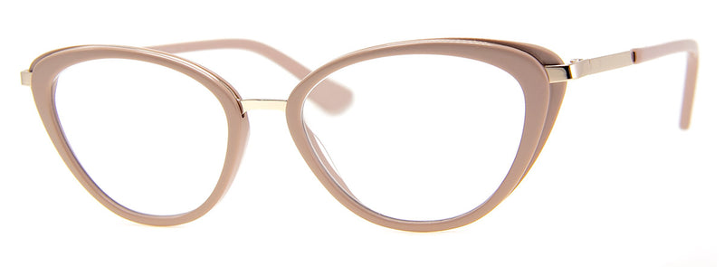 Beige - Optical Quality | Cute Cat Eye Reading Glasses