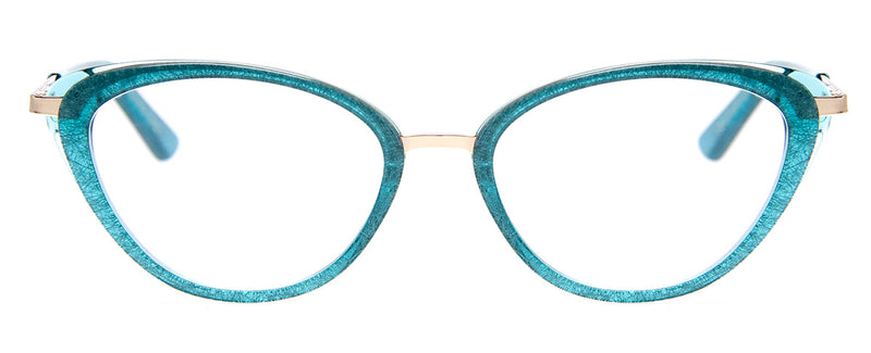 Teal – Womens  Cat eye Reading Glasses
